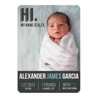 Anúncio do nascimento