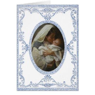 Anúncio do nascimento cartão comemorativo
