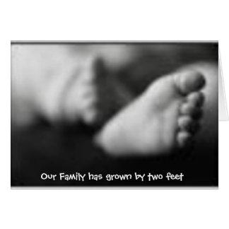 Anúncio do nascimento da adopção