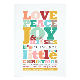 Anúncio do nascimento do amor do Natal do nome do