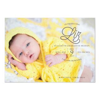 Anúncio do nascimento do céu de Liz