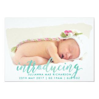 Anúncio do nascimento do curso da escova da