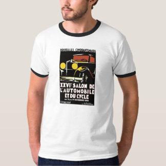 Anúncio do salão de beleza dos anos 30 de Bruxelas T-shirts