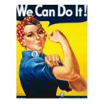 Anúncio dos direitos das mulheres do vintage cartao postal