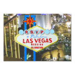 Anúncio e celebração do casamento de Las Vegas Convite Personalizados