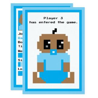 Anúncio étnico incorporado do bebé do jogo do