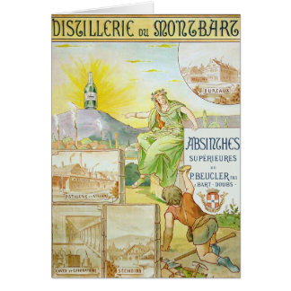 Anúncio francês do absinto