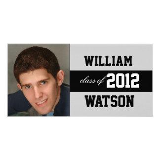 Anúncio legal da graduação cartoes com foto personalizados