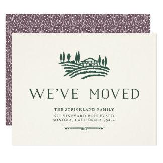 Anúncio movente da região vinícola