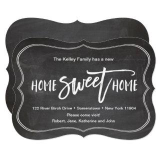 Anúncio movente do quadro Home doce Home