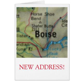 Anúncio novo do endereço de Boise
