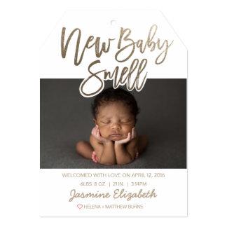 Anúncio novo do nascimento do cheiro do bebê do