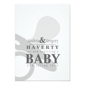 Anúncio simples da gravidez do Pacifier