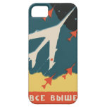 Anúncios da caixa de fósforos do russo do vintage capa para iPhone 5