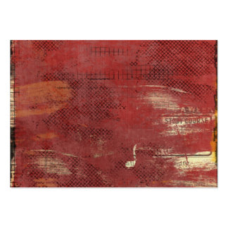 anúncios de jornal pintados vermelho do vintage modelo cartoes de visita