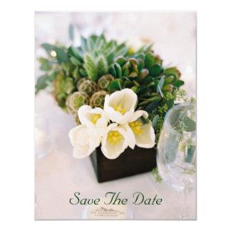 Anúncios do convite do casamento do reciclado convite 10.79 x 13.97cm