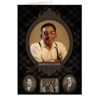 anúncios do memorial da foto de família