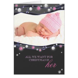 Anúncios novos Sparkling do nascimento do bebé das