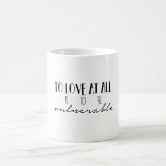 Ao amor em toda a caneca de café