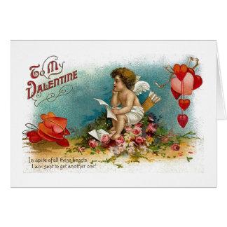 Ao cartão do dia dos namorados do marido