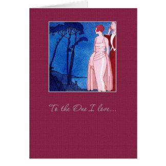 Ao um amor de I. Cartões do dia dos namorados