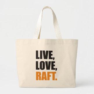 Ao vivo e em directo, Love, Raft Sacola Tote Jumbo
