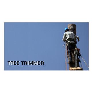 Aparamento da árvore/modelo de cartão de negócios  cartoes de visita