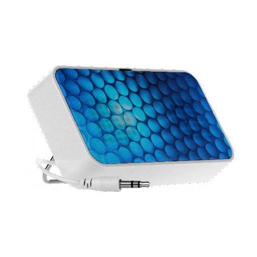 Apenas - - auto-falante iPod/iPhone/MP3 azuis Caixinha De Som Para Laptop