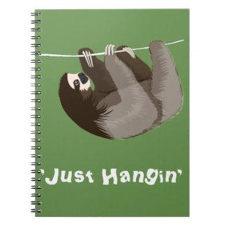 Apenas caderno da preguiça de Hangin