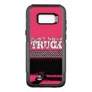 APENAS caminhão da MOVIMENTAÇÃO: Senhora Capa OtterBox Commuter Para Samsung Galaxy S8+