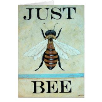 Apenas cartão da arte da abelha