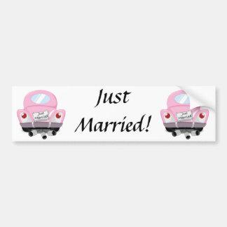 apenas+casado, casado+carro, desenhos adesivo para carro