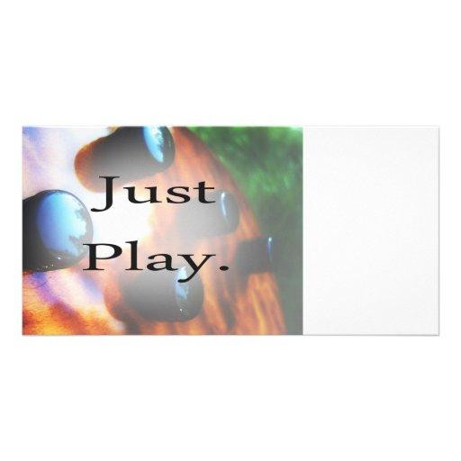 Apenas design da música do jogo com fundo do baixo cartões com fotos