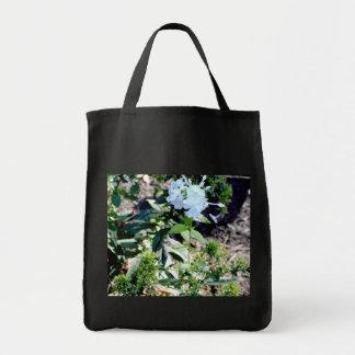 Apenas em um remendo da flor sacola tote de mercado