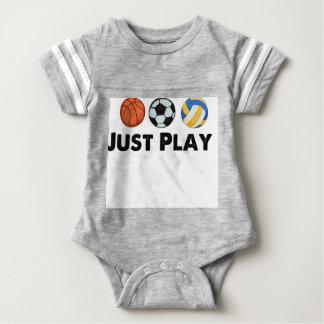 Apenas jogo body para bebê