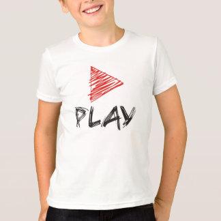 Apenas jogo camiseta