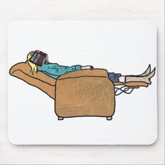 Apenas livro de refrigeração que lê a esteira mouse pad