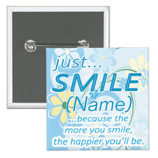Apenas o sorriso adiciona um nome boton