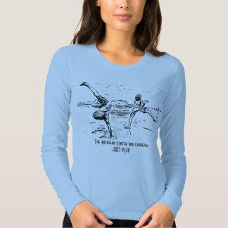Apenas o T das mulheres de Capoeira TMCC do jogo T-shirts
