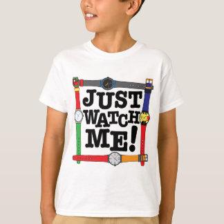 Apenas olhe-me camiseta
