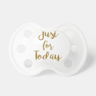 Apenas para o presente do slogan do NA do AA das Chupeta Para Bebê