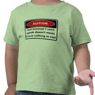 Apenas porque eu chanfro fale o t-shirt