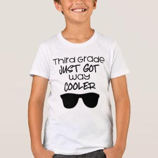 Apenas refrigerador obtido terceiro grau da camiseta