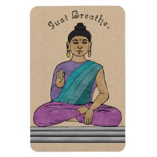 Apenas respire (o ímã flexível)