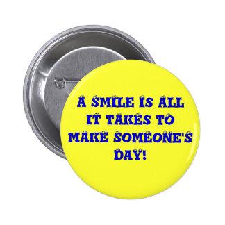 Apenas sorriso, aprovação? botons