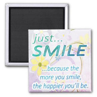 Apenas sorriso imã