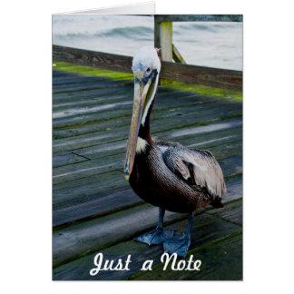 Apenas um cartão de /Note da nota