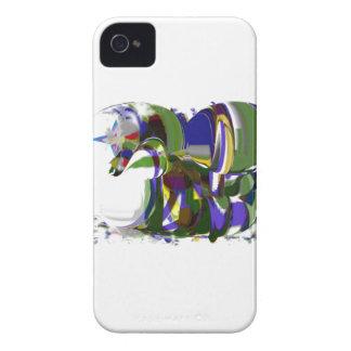 Apenas uma arte selvagem do modernismo do cavalo capinha iPhone 4