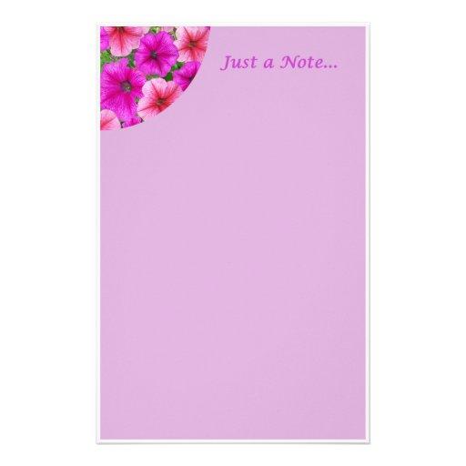 Apenas uma nota… Papel de carta Papeis Personalizados