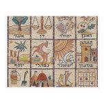 Aplane Tribos de Israel Cartões Postais